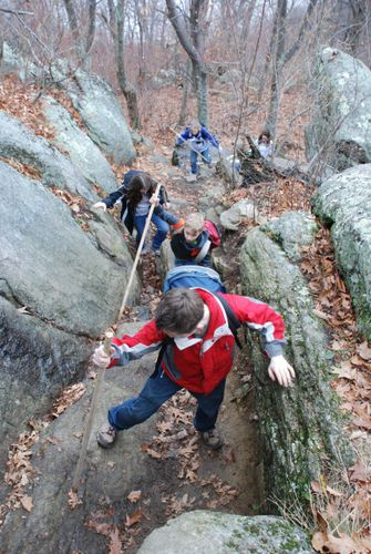 Old Rag Rock Scramble