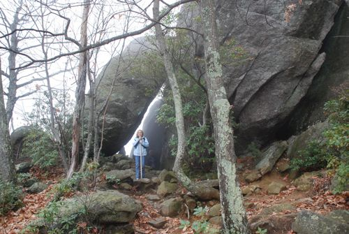 Old Rag Ash Rock